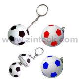 Unidade Flash USB de formato de futebol (ZUFD017)