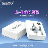 Seego G-Ha colpito il lusso della sigaretta di elettronica K2 & l'olio lucido Clearomizer