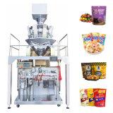 Automatische Multihead-weegmachine met Candy/havermout/banaan-vlokverpakking Zak met rits