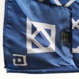 Vente en gros d'écharpe de satin en soie de la mode 100% longue (SC007)