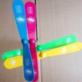 航空機の支柱のおもちゃを回す印刷されたLED