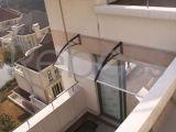 Cubierta de policarbonato/ toldo para la ventana y puertas