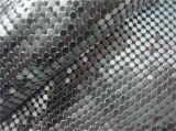 Домашняя украшения блестящие металлические шторки ткань