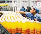 Het Jus d'orange die van de Makende en Verpakkende Machine van het sap tot Machine maken de Natuurlijke Lopende band van het Vruchtesap