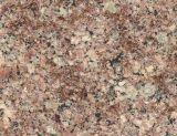 G611アーモンドの藤色の磨かれた花こう岩の平板