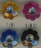 Tasti acrilici di figura del fiore (A-640)