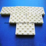 mattonelle resistenti all'uso di ceramica dell'allumina abrasiva 95% di 92% con la fossetta