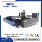 Machine de découpage de laser de fibre de pipes de plaques pour des affaires en métal
