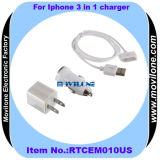 3 en 1 chargeur pour iPhone (RTCEM010US)