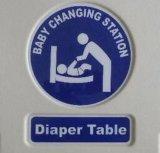 De muur Opgezette Verandering Platfrom van de Luier van de Zuigeling van de Posten van de Zorg van de Baby