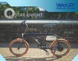 Matt-schwarzes Ionenelektrisches Fahrrad mit Hochtechnologie des Veloup Systems-Pedelec