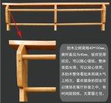 De binnen Houten Muur Opgezette Staaf van de Gymnastiek, de Apparatuur van de Gymnastiek Bodybuilding