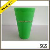4つのキャビティプラスチック注入の緑のコップ型