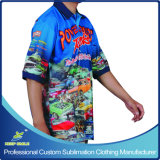 Kundenspezifisches Sublimated Sublimation Team oder Club Race Shirts