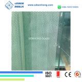 6mm frita de cerámica de vidrio templado de puerta deslizante