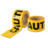 أصفر وأسود [ب] تحذير شريط لأنّ خطر إنذار