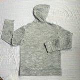 L'ouatine d'homme de mode Ferment la fermeture éclair-vers le haut Hoodies avec la poche dans des vêtements Fw-8663 d'usure de sport