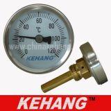 Termometro bimetallico industriale dell'acqua (KH-W201T)