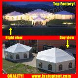 Multi tenda laterale trasparente popolare 2018 per il diametro 8m del partito ospite di Seater delle 30 genti