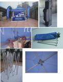 Sale3X3m 옥외 주문을%s 인쇄를 가진 접히는 천막을 광고하는 상업적인 알루미늄은 터져 위로 접히는 천막을 광고한