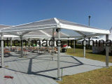 Большой алюминиевый шатер структуры шестиугольника для напольной выставки случая