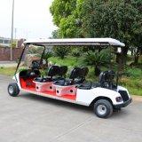 6 Seaterのホテル、ゴルフコースのための電気ゴルフカート