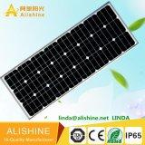 Indicatore luminoso di via astuto solare Integrated della batteria LED di vita Po4 tutto in una lampada solare della via LED