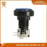IP40保護レベル青いLEDの押しボタンスイッチPbs-004