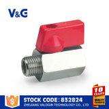 El precio Valogin Mini válvula de bola de latón Fxm
