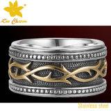 方法鋳造の宝石類のリングの工場