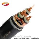 Cable de transmisión acorazado aislado XLPE del alambre de acero de la base del Al del Cu