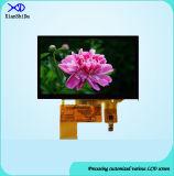5.0容量性接触パネルが付いているインチTFT LCDの表示