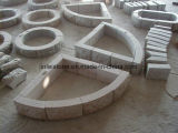 Granito natural/Basalto/desdobrado pavimento/Mesa/Pedra de calçada cúbicos / Espalhadoras pedra para Outdoor