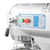 Misturador de massa de pão elétrico comercial do quarto 370W do misturador 10 do carrinho da máquina de mistura do alimento do misturador de alimento