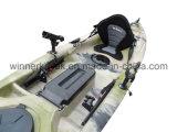 Barco de pesca de la nueva del estilo individual persona plástico