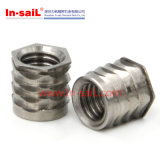 La Chine attache Fabricant Inserts en acier inoxydable pour le téléphone de l'écrou Shell