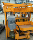Qt40-3A Machine à la main au sol Machine de formage de blocs creux Machine de blocage creux