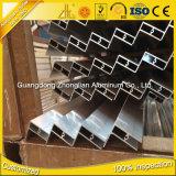 6063 blocco per grafici di comitato solare di alluminio anodizzato del blocco per grafici di alluminio di T 6