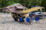 Tenda della parte superiore del tetto della tenda di campeggio dell'automobile