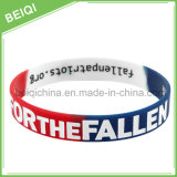 Wristband reso personale poco costoso di /Silicone del braccialetto del silicone di Segement