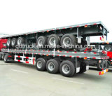 40FT de Aanhangwagen van de container, Flatbed Aanhangwagen, containervrachtwagen