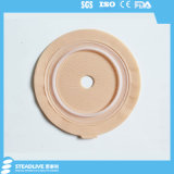20-60mm切られたサイズの円形のHydrocolloid Colostomy袋のフランジ(SKU2039060)