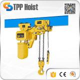 Grua Chain elétrica industrial de 5 toneladas com trole