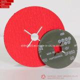 disco di smeriglitatura di 125*22mm P60, di Zirconia & dell'ossido di alluminio per metallo