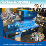 Machine en plastique de défibreur d'arbre de double de caisse d'emballage