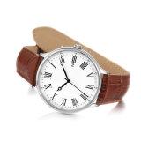 곡선 Glass72874를 가진 디자이너 남자 스테인리스 석영 시계