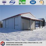 Les matériaux de construction bon marché de construction conçoivent l'entrepôt de structure métallique