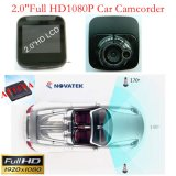 """Дешевые приватные 2.0 """" автомобиль DVR с камерой HD1080p, 5.0mega CMOS, Builit-в G-Датчике, с ночным видением, видеозаписывающее устройство DVR-2001 цифров"""