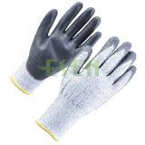 Gants protecteurs de travail de travail enduits par nitriles de sécurité du travail (D78-G5)