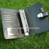 PU de alta qualidade Design Portátil e pasta de arquivo de carteira
